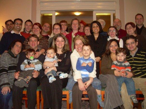 Bahá'í összejövetel (19 napi ünnep) Budapesten 2007. dec. 30-án