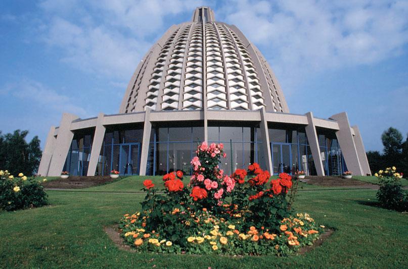Az európai bahá'í templom (Langenhain, Németország) (c) Bahá'í Nemzetközi Közösség www.bahai.org