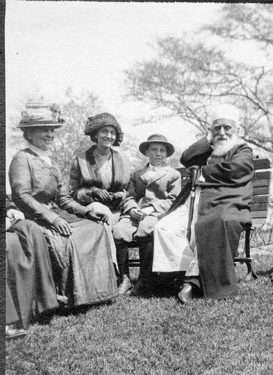 'Abdu'l-Bahá, a Chicago-i Lincoln Parkban (1912) (c) Bahá'í Nemzetközi Közösség www.bahai.org