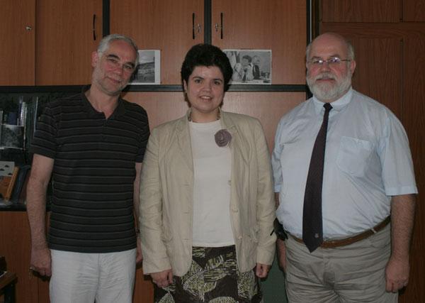 Balog Zoltán, a Parlament Kisebbségi és Egyházügyi Bizottságainak elnöke a bahá'í közösség képviselőivel