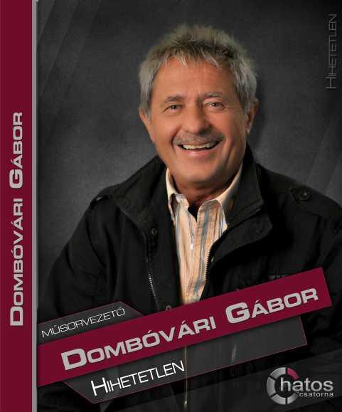Dombóvári Gábor, a hatos csatorna műsorvezetője (forrás: www.hatoscsatorna.hu )