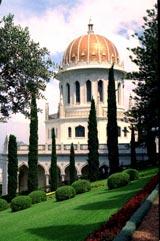 A Báb sírszentélye (Haifa, Izrael) (c) Bahá'í Nemzetközi Közösség www.bahai.org