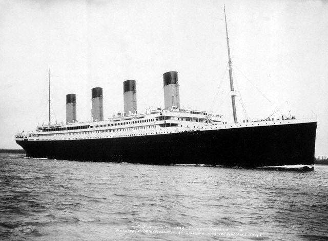 A Titanic, melyen utazhatott volna 'Abdu'l-Bahá, ha elfogadja a neki küldött pénzt © közkincs, forrás: Wikimedia Commons, szerző: F.G.O. Stuart (1843-1923)