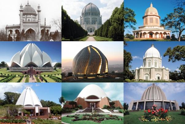A most már minden kontinensen található bahá'í templomok © Bahá'í Nemzetközi Hírszolgálat news.bahai.org