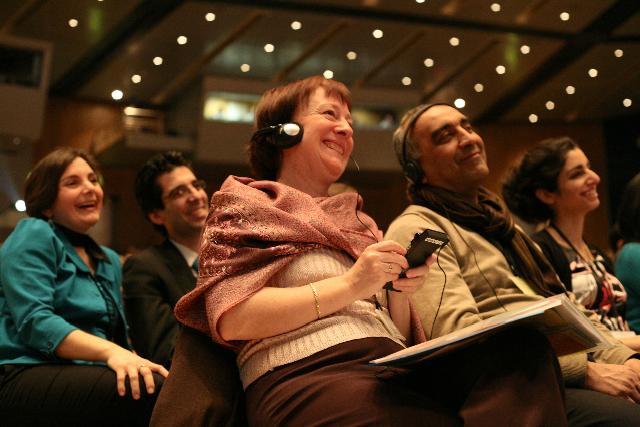 A bahá'í konferencia résztvevői 14 európai országból érkeztek
