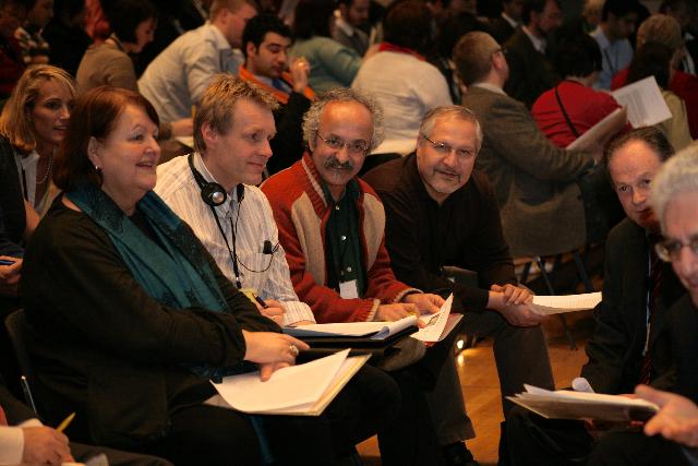Európa egysége - bahá'í-ok csoportmunkában a frankfurti bahá'í konferencián