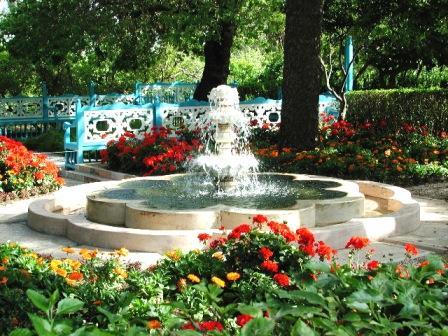 Bahá'u'lláh valószínűleg ebben az Akkó melletti kertben nyilatkoztatta ki a Ridván Kert Tábláját (c) Bahá'í Nemzetközi Közösség media.bahai.org