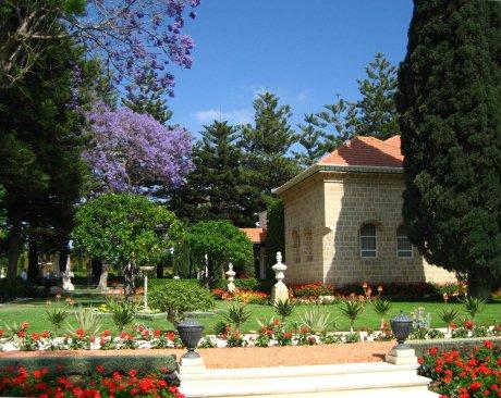 Bahá'u'lláh sírszentélye (Bahji, Izrael) (c) Bahá'í Nemzetközi Közösség media.bahai.org