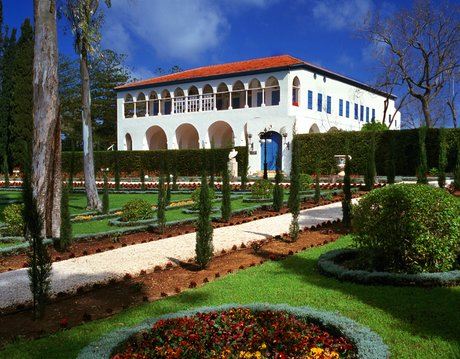 Bahá'u'lláh udvarháza (Bahji, Izrael). © Bahá'í Nemzetközi Közösség media.bahai.org