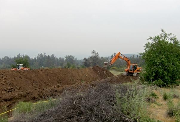 A földmunkák megkezdése © Bahá'í World News Service news.bahai.org