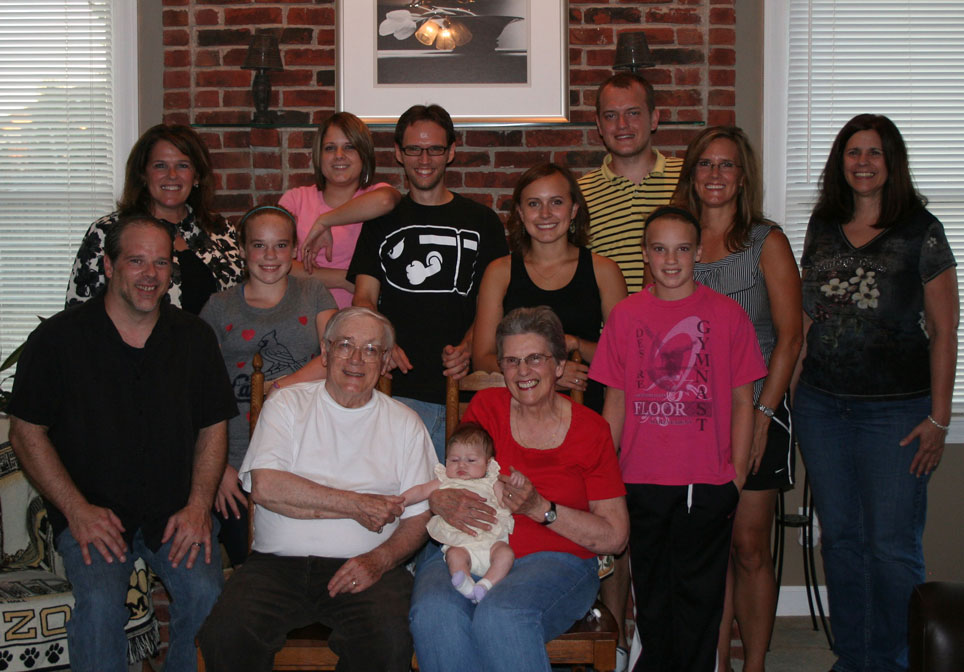 A szülők tisztelete és a család egysége a bahá'í alapelvek egyike. (c) Magyarországi Bahá'í Közösség www.bahai.hu