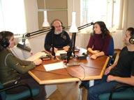 Az Időt kérünk! rádióműsor felvétele a Magyar Rádió szombathelyi stúdiójában