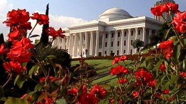 Az Igazságosság Egyetemes Házának székhelye (Haifa, Izrael) forrás: www.HaifaMovie.com