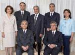 Az informális iráni bahá'í vezetőség, melynek egy tagját március elején, hat tagját május 14-én tartóztatták le, hitük miatt.