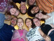 Kamasz program: Önkifejezés fejlesztése és erkölcsi alapok felismerése. (c) Magyarországi Bahá'í Közösség www.bahai.hu