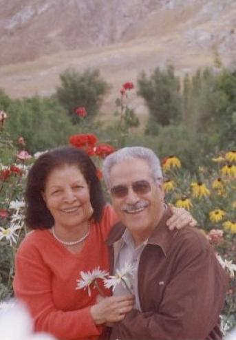 A Khanjani házaspár boldogabb időkben © Bahá'í World News Service news.bahai.org