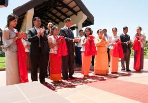 A kambodzsai templom megnyitója © Bahá'í Nemzetközi Hírszolgálat news.bahai.org