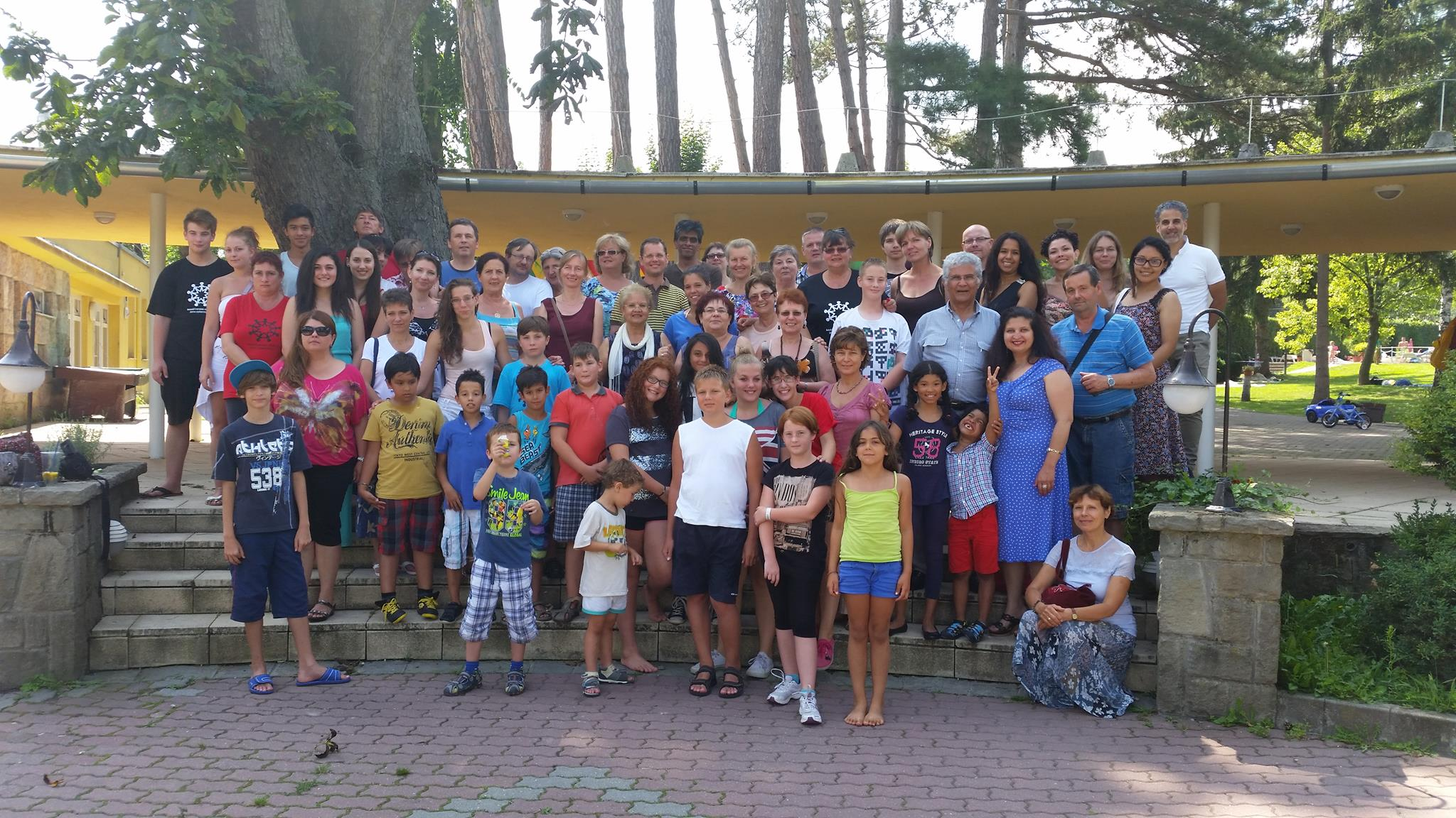 Csoportkép a nyári iskoláról (2014, Leányfalu)