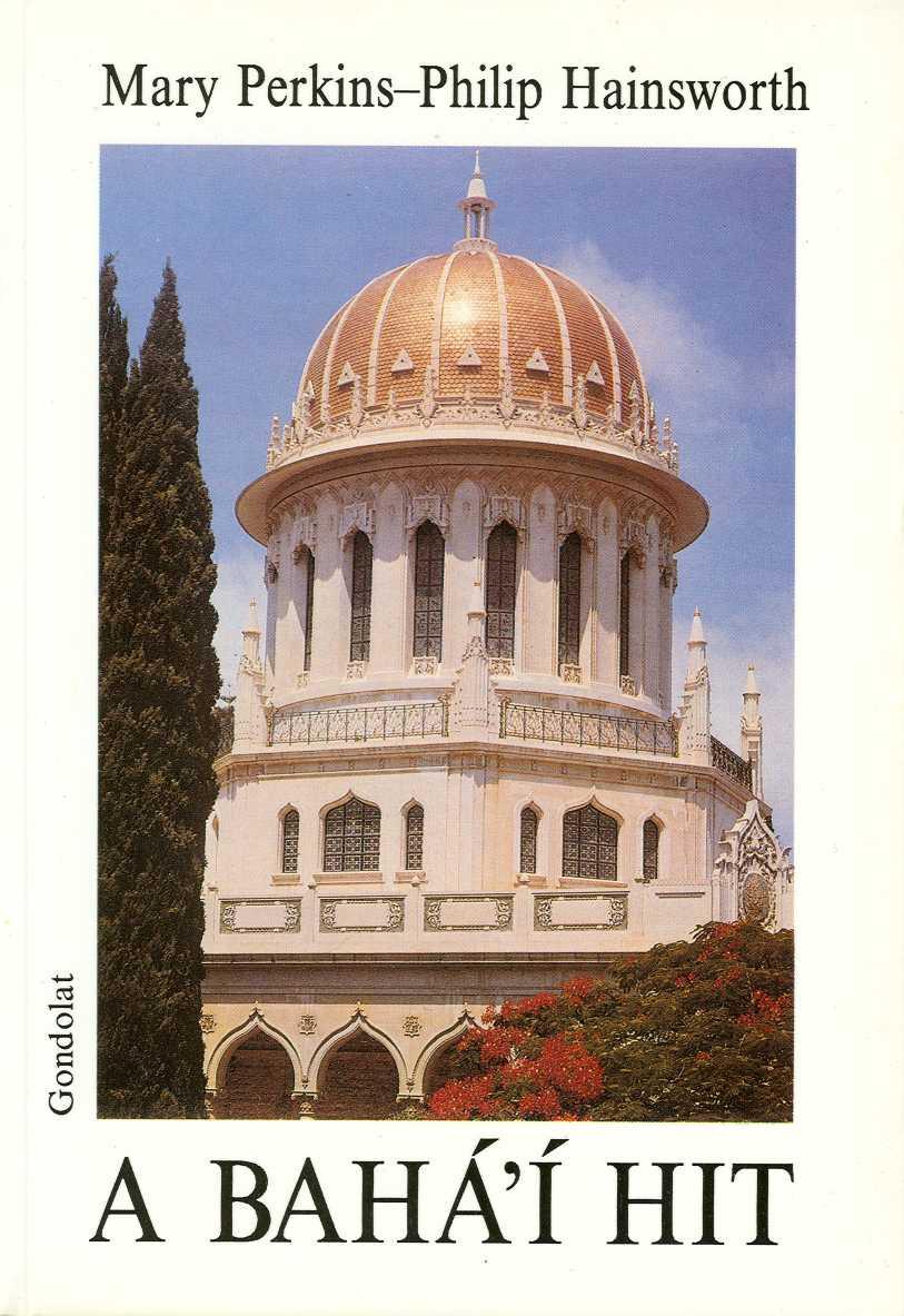 Perkins: A bahá'í hit, a Gondolat kiadó gondozásában megjelent könyv borítója