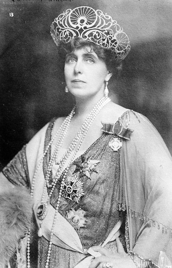 Rövid idézet Mária román királynétől. Kép: George Grantham Bain [közkincs], via Wikimedia Commons