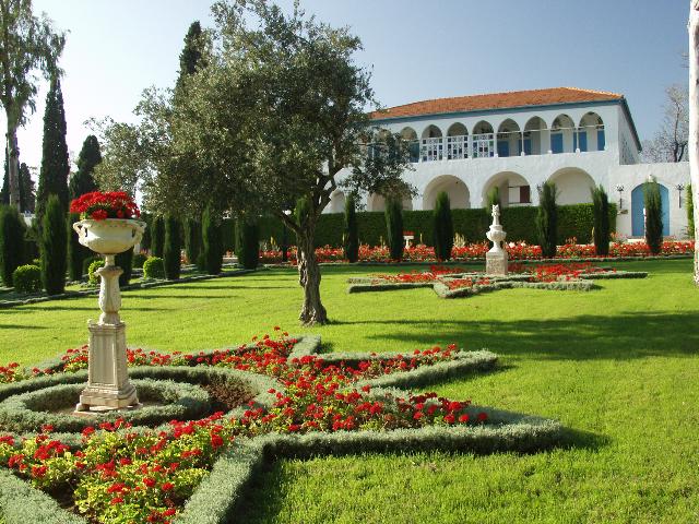 Az akkói szép kert egyik épülete, Bahá'u'lláh udvarháza