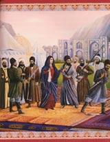 Tahirih, az első nő, aki leveszi fátylát