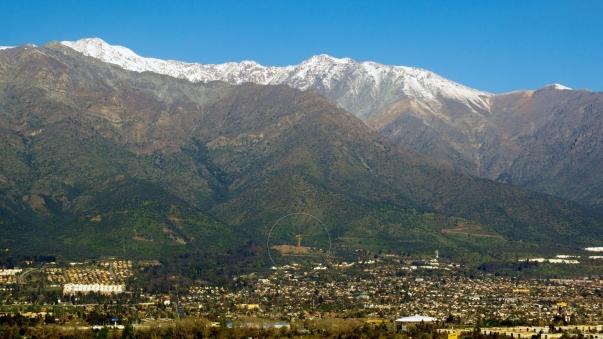 A templom Santiago városából © Bahá'í Nemzetközi Hírszolgálat news.bahai.org