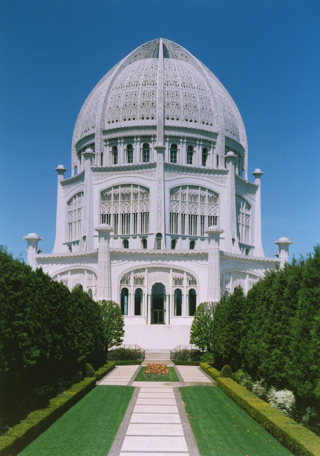 Bahá'í templom (Wilmette, Chicago, USA) (c) Bahá'í Nemzetközi Közösség www.bahai.org