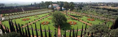 A Világörökség részévé választott Bahá'u'lláh sírszentélye és a körülötte lévő kertek (Akkó közelében, Izrael)