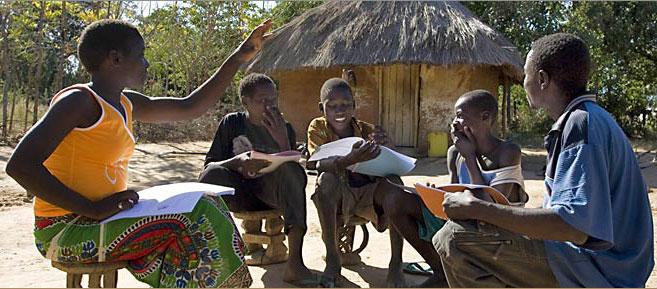 Bahá'í ifjúsági osztály Zambiában